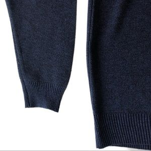 Ministry of Fashion Sweaters - MINISTRY OF FASHION Heather Blue-BlK Polo Sweater